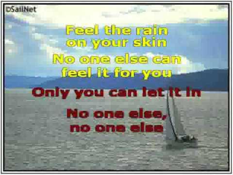 Unwritten karaoke with lyrics