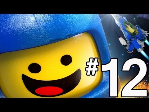 The Lego Movie Videogame Walkthrough - PART 12 - Spaceship!