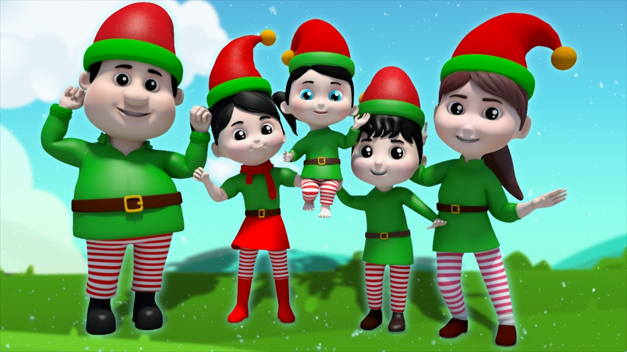 Finger Family Elves | nursery rhyme | kid songs by Farmees S01E166 ...