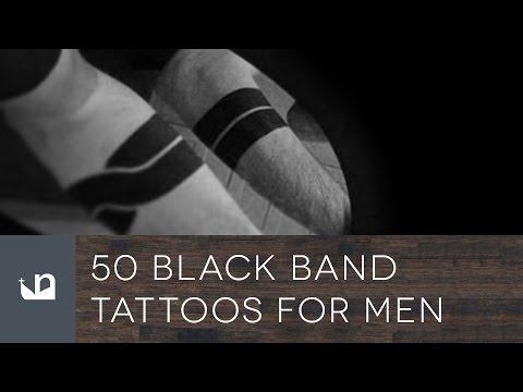 50 Black Band Tattoos For Men