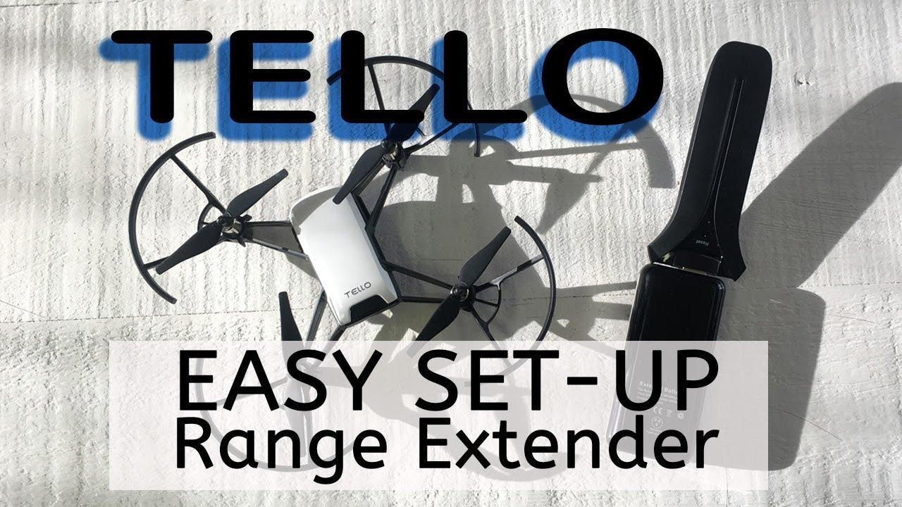 WIFI Range Extender Easy Set Up for Ryze Tello Drone