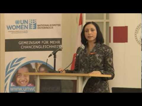 UN Watch human rights conference - Marina Nemat of Iran
