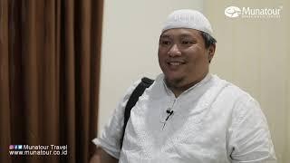 Munatour Travel - Testimoni Bapak Getta Alumni Haji 1439 H/ 2018 M