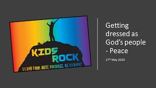 Getting Dressed As God's People - Peace