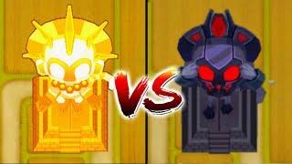 MAX Dark Vengeful Monkey Temple Vs. True Sun God Temple! (Bloons TD 6)