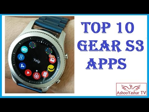 Top 10 Applications for Samsung Gear S3 - Best apps for Gear S3 / S2
