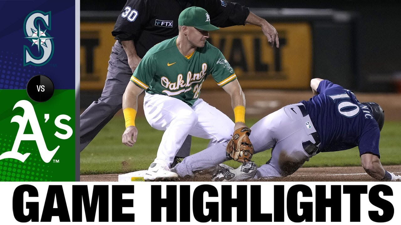 Download Mariners vs. Athletics Game Highlights (9/21/21)   MLB Highlights
