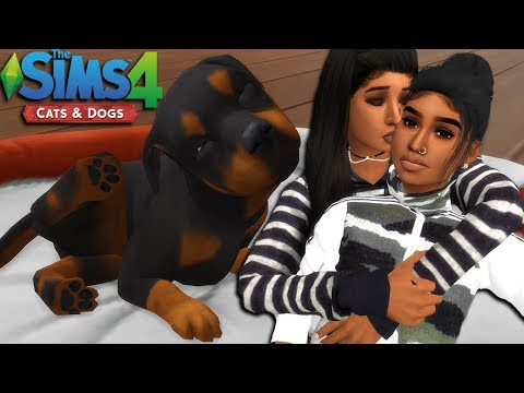 THE SIMS 4 | CATS & DOGS - EPISODE 1 | ADOPTING THE CUTEST PUPPY EVER!