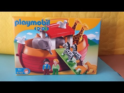El arca de no de playmobil youtube for Arca de noe playmobil