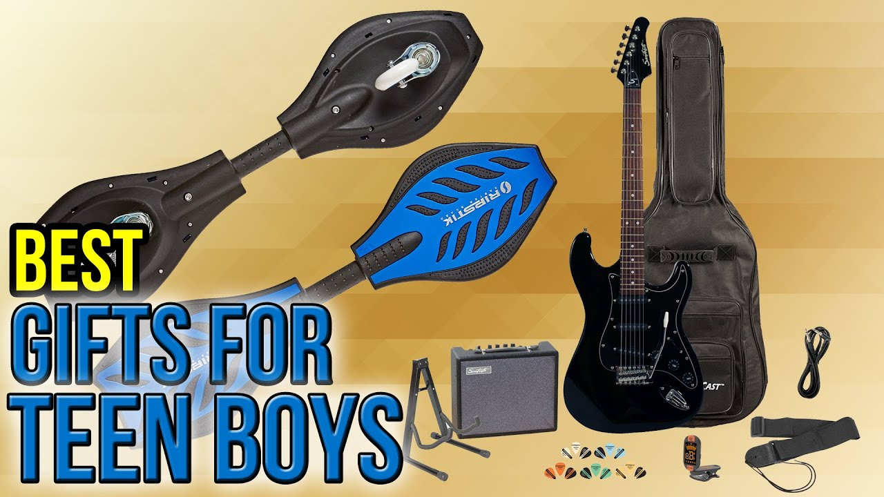 10 Best Gifts For Teen Boys 2017