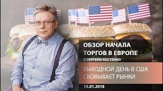Аналитика рынка Форекс: Выходной день в США сковывает рынки - Обзор открытия европейской сессии