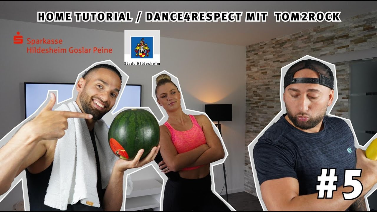 Home Tutorial | Dance4Respect Teil 5 Tom2Rock