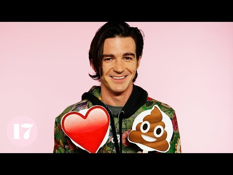 """Drake and Josh""'s Drake Bell Tells His Most Embarrassing Stories With Emojis"