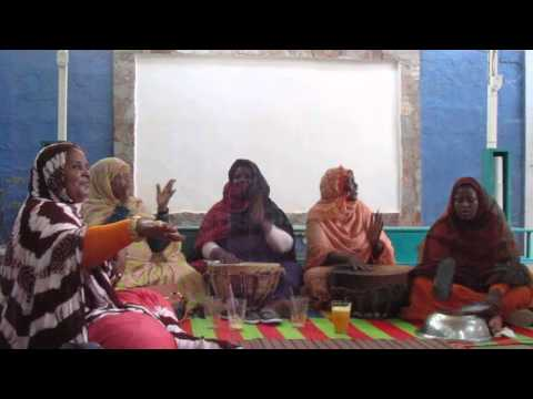Haratine women in Mauritania sing the traditional bemdjé of women of slave descent