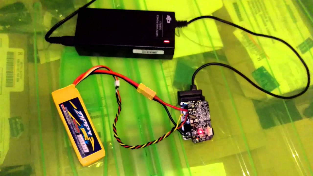 hack phantom 2 firmware to change batery