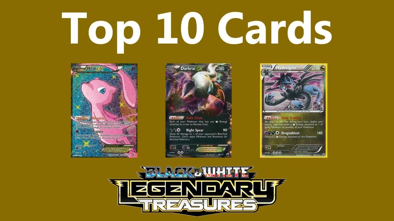 Legendary Treasures Set Review: Top 10 Pokémon Cards - YouTube