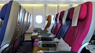 Thai Airways Flight Experience: TG571 Vientiane to Bangkok