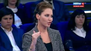 Ирина Бережная о возможном введении военного положения в Украине («60 минут» от 13.06.2017)