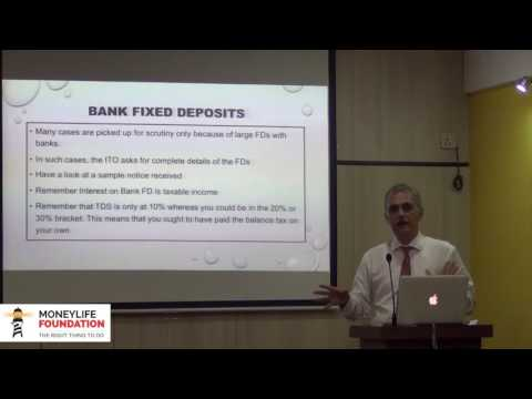 Scrutiny notice in income tax