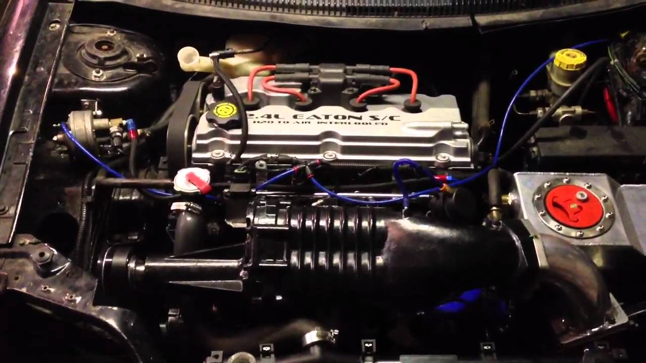 2 4l Eaton M62 Supercharged Dodge Neon Youtube