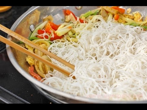 Вопрос: Как приготовить рисовую лапшу?