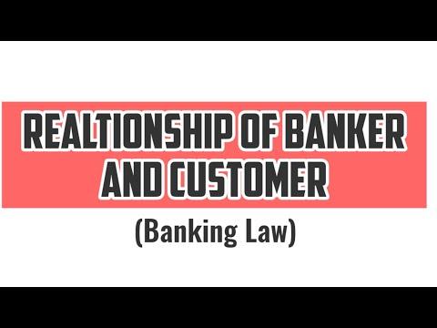 Realtionship between Banker and Customer | Banker Customer R