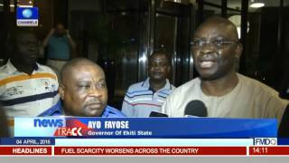 Ekiti Gate: Aluko Reconciles With Governor Fayose