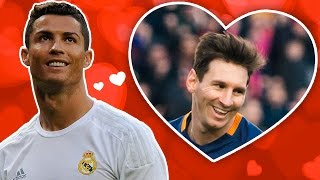 Leaked: ronaldo reveals love for messi (parody)