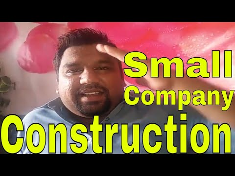Small Construction Company