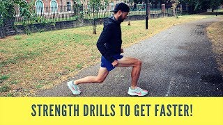 Running Drills to Improve Form, Cadence and Become a FASTER Runner!