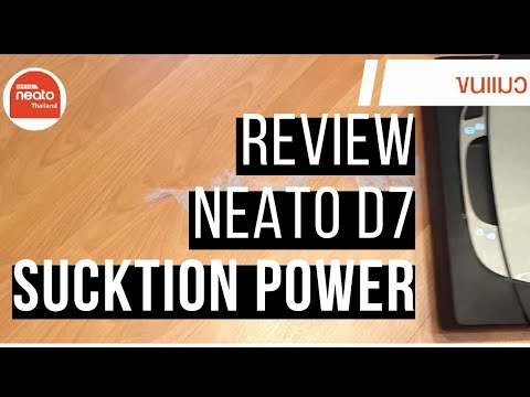 Review Neato D7// TEST Suction power //รีวิวทดสอบแรงดูด Neato D7