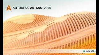 Курс обучения программе ArtCAM. Урок № 11. Создание наклонной плоскости. Вырождение рельефа