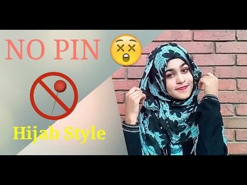 a8d54b037c45 NO PIN   PIN LESS Hijab Style Challenge