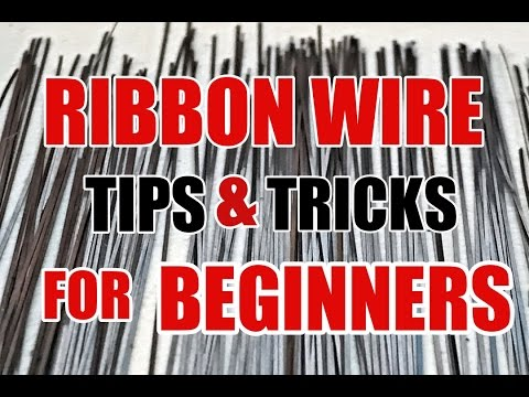 HOW TO STRAIGHTEN RIBBON / SQUARE WIRE: A BEGINNER TUTORIAL TIPS & TRICKS