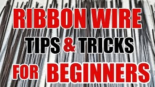 Struggling with ribbon wire? In this video I cover different ways t...