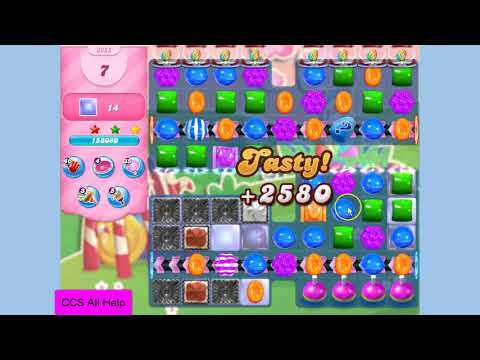 Candy Crush Saga Level 3255 NO BOOSTERS Cookie