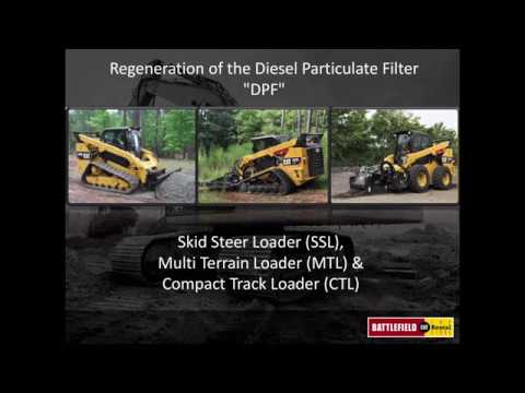 Regeneration of the Diesel Particulate FIlter (DPF)