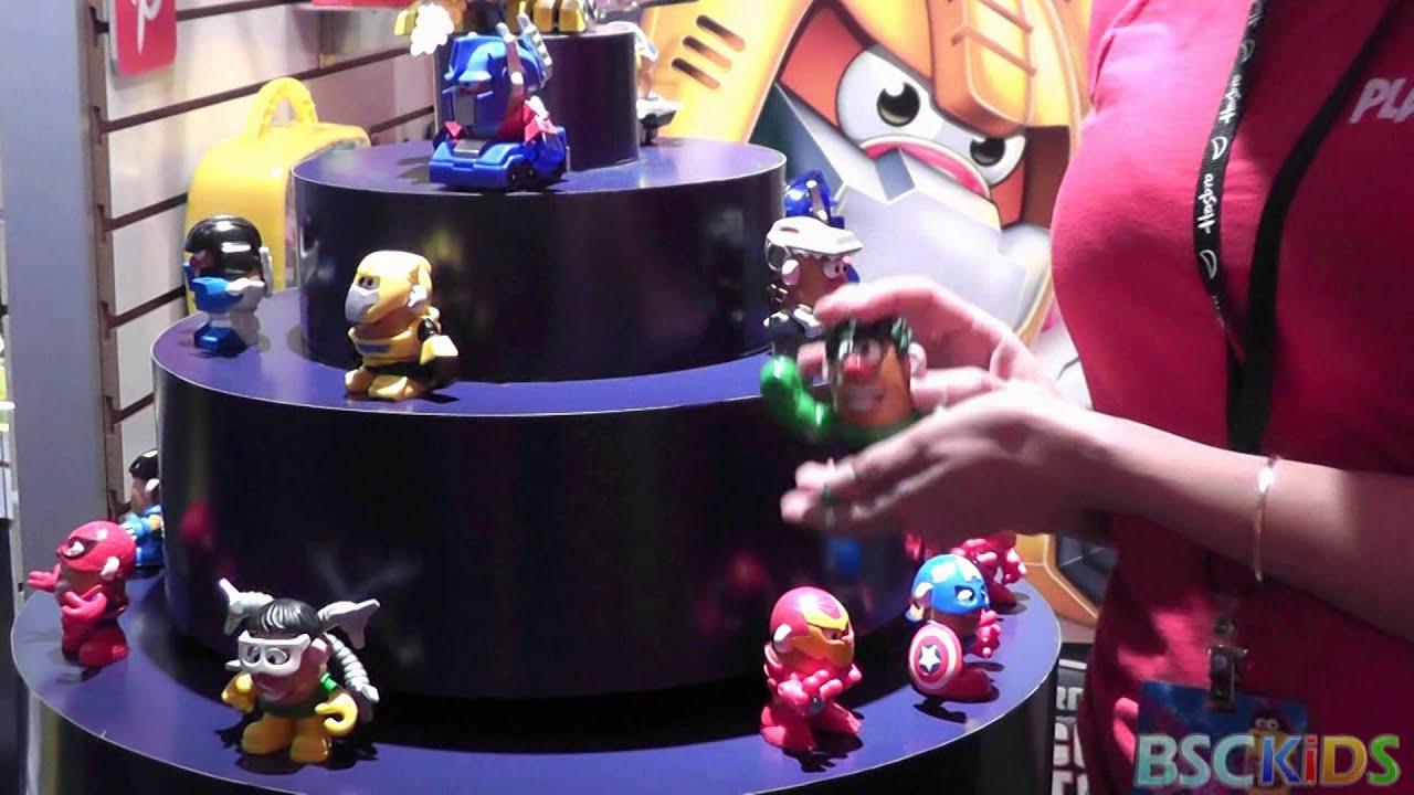 Transformers And Marvel . Potato Head Mixable Mashable