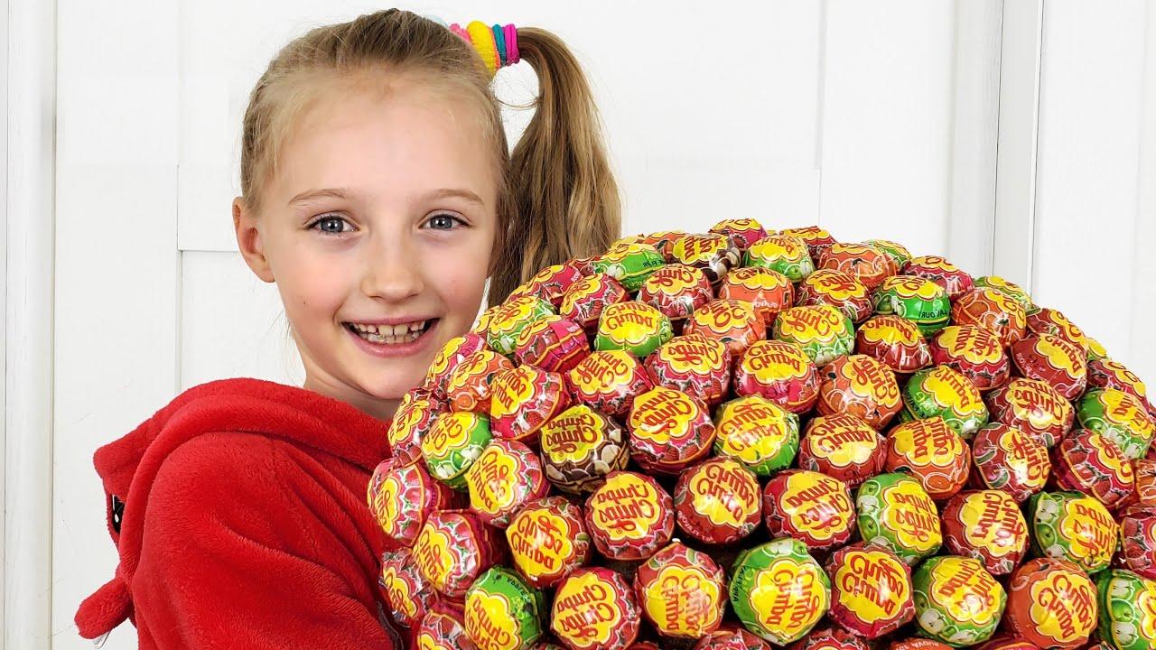 Слишком много шоколада и конфет веселые истории от Полины