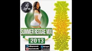DJ LOGON -SUMMER ONE DROP REGGAE MIX 2013