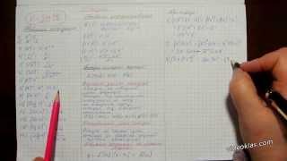 Тема 24. Похідна функції, її геометричний і механічний зміст. Опорний конспект.