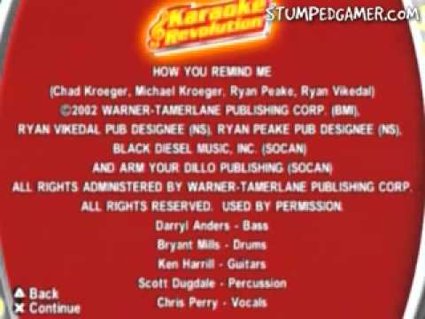 Karaoke Revolution   PS2   09   Credits
