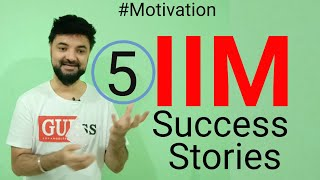 5 Beautiful IIM Converts Stories which will motivate you. CAT Success Stories