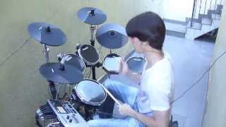 Red Hot Chili Peppers - Can't Stop (Drum Cover) Renato RBG - Alesis DM10