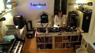 Live WebTV | Tapedeck with Mathias Meindl on decks Helge Baumberg