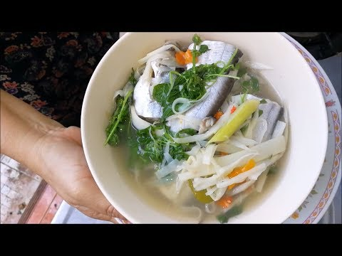 Fish curry with Pickled bamboo shoots ( thai food recipes ) – Asian food