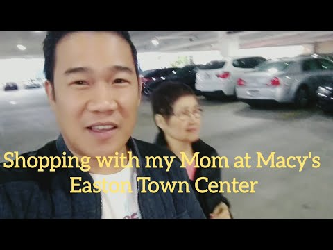 Impulsive Shopping With Mom At Macy's | Easton Town Center Columbus Ohio