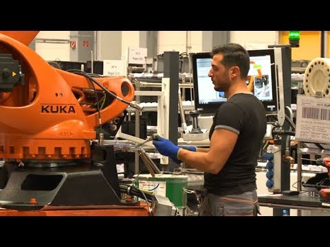 German robot maker seizes opportunity from industry revolution