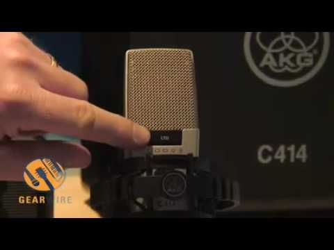 AKG's Limited Edition C414 Mic