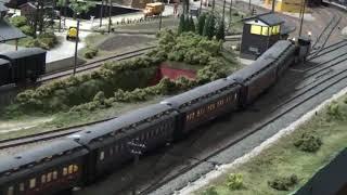 B6の牽引する旅客列車
